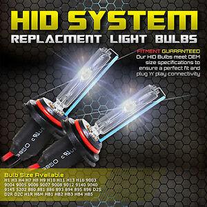 35W 55W HID Xenon Replacement Light Bulbs H1 H3 H4 H7 H11 H13 9003 9005 9006