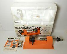LYMAN CASE TRIMMER W/ NINE PILOT IN BOX