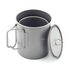 TOAKS CUP-450 450ML Kaffeebecher Outdoor Leichte Camping Titanium Becher Kochgeschirr
