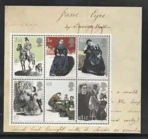 Great Britain Sc 2272a 2005 Jane Eyre stamp souvenir sheet mint NH