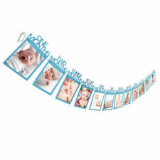 Bunting Banner ONE Year Baby Shower Boy Girl Decorations 1st Birthday Party