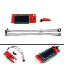 2004 Lcd Display Controller W/ Adapter Ramps 1.4 Reprap Mendel For 3D Printer Ue