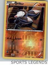 2012 pokemon Dark Explorers reverse holo Drilbur 55/108