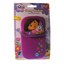 Dora The Explorer Kids Purple Carry Pocket Case For DS Lite DSi & 3DS