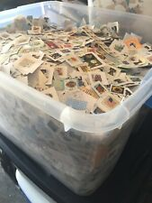 1 lb pound United States Stamp Collection Liquidation lot On Paper Nice Deal