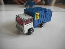 Matchbox Refuse Truck in White/Blue