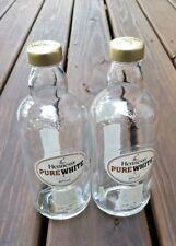 Pure White Hennessy Cognac Bottle Lot of 2 Bottles Empty e70cl 700ml