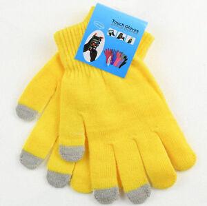 Men/Women Winter Touch Screen Gloves For Smart Phone Tablet Full Finger Mittens