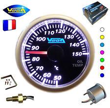 ► Manomètre Racing VEGA® 52mm Température Huile 7 couleurs Tactile 50-150°C ◄