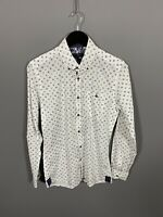 TED BAKER Shirt - Size 3 Medium - White - Great Condition - Men's