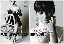 Coupure de presse Clipping 2008 (6 pages) Mathilda May