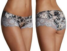Marks & Spencer Womens Low Rise Shorts With Lace 3-Pack New M&S Briefs Knickers