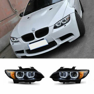 For BMW M3 E92 E93 LED Headlights Projector LED DRL Replace OEM Halogen2008-2013