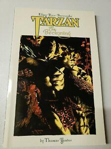 Tarzan The Beckoning Graphic Novel Dark Horse Books Edgar Rice Burroughs New