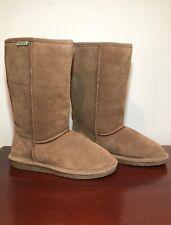Bearpaw Women's (Size 9) Emma Tall Fashion Fuzzy Brown Boots