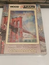 Clementoni 37034.4 – Brooklyn Wooden Jigsaw Puzzle (500 Pieces~Sealed)