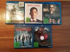 10er Paket Blurays inkl 3D. Inception, Harry Potter, Ironman