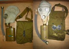 Original set Soviet gas mask RSH-4(mask SHM-41M or SHMS) Lot 2pcs.discount 21$
