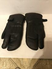 Antique / Vintage - American Motor Co. Amc - Leather Driving Gloves - Rare