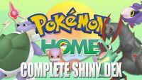Pokemon Home Living Pokedex 960+ Pokemons Shiny Living Dex