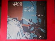 MARION BROWN & GUNTER HAMPEL REEDS 'N VIBES LP