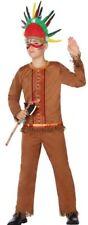 Déguisement Garçon Indien 5/6 Ans Costume Enfant Western Cowboy Pas cher