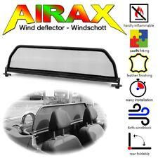 AIRAX Windschott Peugeot 207 CC schwarz mit Schnellverschluss WSP040
