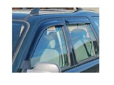 LAND ROVER FREELANDER 1 99-05 FRONT & REAR WIND DEFLECTOR SET 4 PIECES DA6077