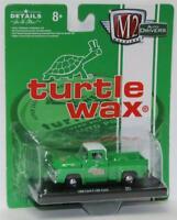 M2 MACHINES Auto-Drivers R61 Turtle Wax 1956 Ford F-100 Truck - Green