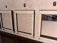 1/64 Warehouse Shop Loading Dock Bay Door for Tractor Trailers Semis Dcp Pem
