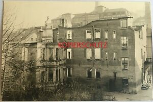 AK Stuttgart um 1945 Trümmer ehem. Neckarstraße 15a mit Wulle Brauerei