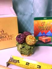 New ListingHarmony Kingdom Garden Chrysanthemum Hgch Retired 1997 Martin Perry New