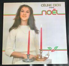 Celine Dion,Chante Noël, 33t.1 ere édition, original Canada 1981