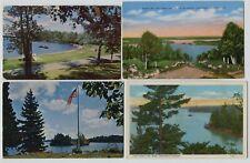 6 Vintage Lake Vermillion Minnesota Postcards 2 Real Photo RPPC