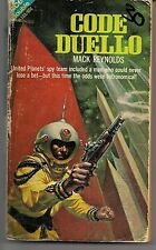 ACE H103 1968 PBO ~ THE AGE OF RUIN J. FAUCETTE / CODE DULLO M. REYNOLDS~ READER