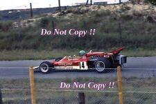 Reine Wissel Gold Leaf Team Lotus 72D Dutch Grand Prix 1971 Photograph 1