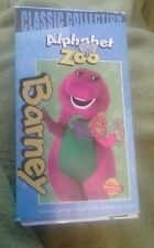 Barney - Barneys Alphabet Zoo (VHS, 2000, Classic Collection) children's movie