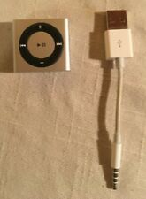 Apple iPod Shuffle Near Perfect Condition 4th Generation Silver 2 GB