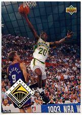 Gary Payton #441 Seattle SuperSonics 1993-4 Tarjeta de baloncesto cubierta superior (C503)