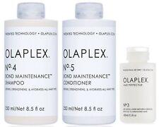 OLAPLEX SHAMPOO NO 4 -- 250 ML AND CONDITIONER NO 5 -- 250 ML AND NO 3 -- 100 ML