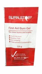 L@@K Burn Stop Sachet |3.5g| Burnstop Pain Reducing EMS EMT Wound Gel  !!