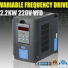 Vevor 2.2kw 3hp VFD Motore VARIATORE di frequenza Inverter monofase a trifase