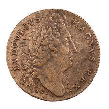 Jeton Louis XIV Trésor Royal Revers Arbre Légende Non Spem Delusit