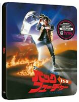 Back To The Future 4K UHD Steelbook Japanese Artwork UK HMV Exclusive Presale