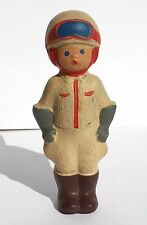 1960s Ussr Russian Traffic Controller Militia Man Rubber Toy Doll Rare