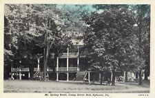 Mt Spring Hotel Camp Silver Bell in Ephrata PA OLD
