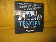 TENORS - TAKE TEN - MAIL ON SUNDAY PROMO MUSIC CD