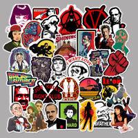 50pcs Classic Movie Skateboard Graffiti  Stickers Vinyl Laptop Luggage Decals