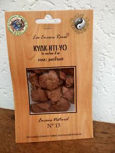 Encens rare Kyak-hti-yo: purifiant, ingrédients naturels équitable n°13