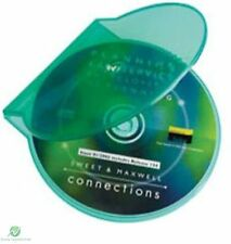 500 Clear Green Clam Shell Plastic High Quality Single Case CD DVD Disk Storage